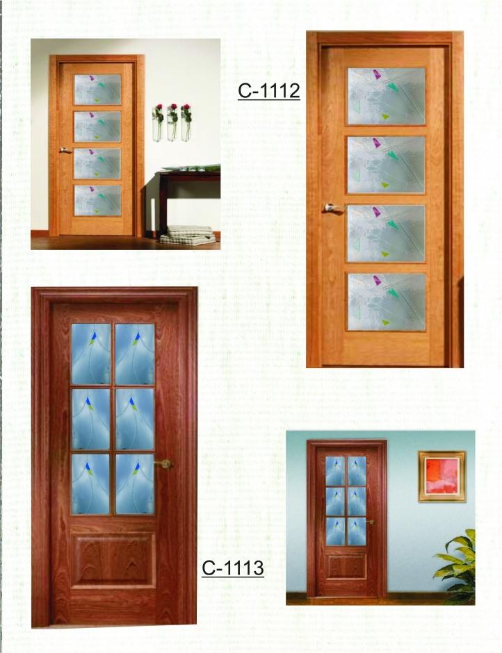 Mod vidrio para puertas cuarterones castevidrio - Vidrios para puertas ...